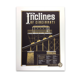 Inclines of Cincinnati - James Billiter Studios Limited Edition Print