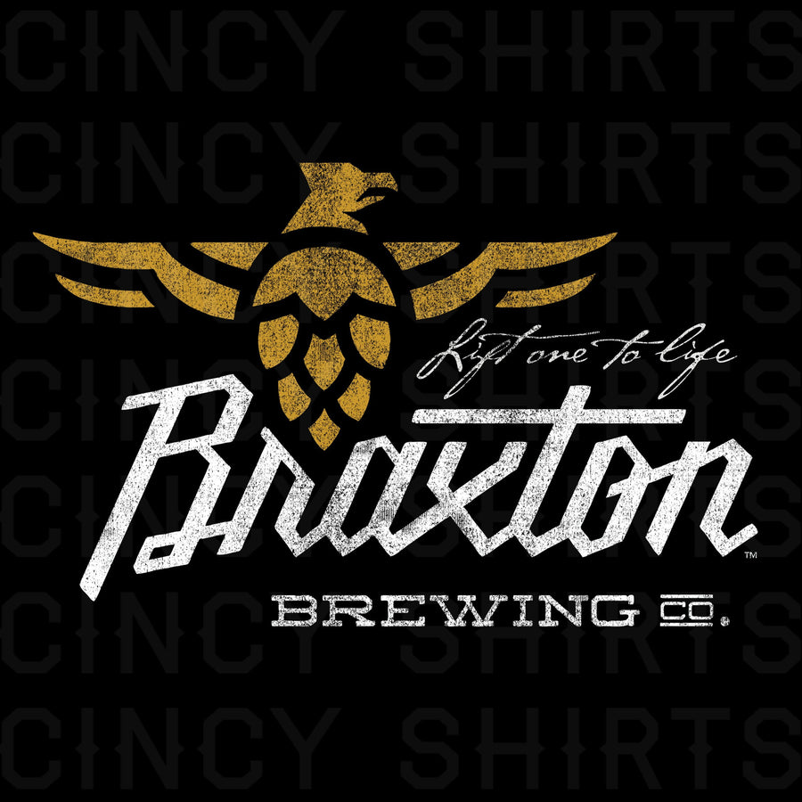 Braxton Brewing Lift One To Life - Cincy Shirts