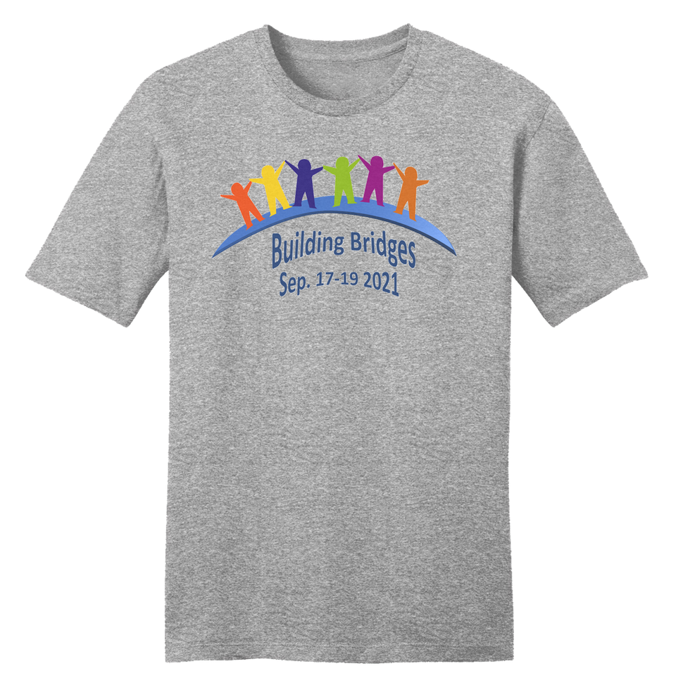 Building Bridges Heather Grey T-shirt