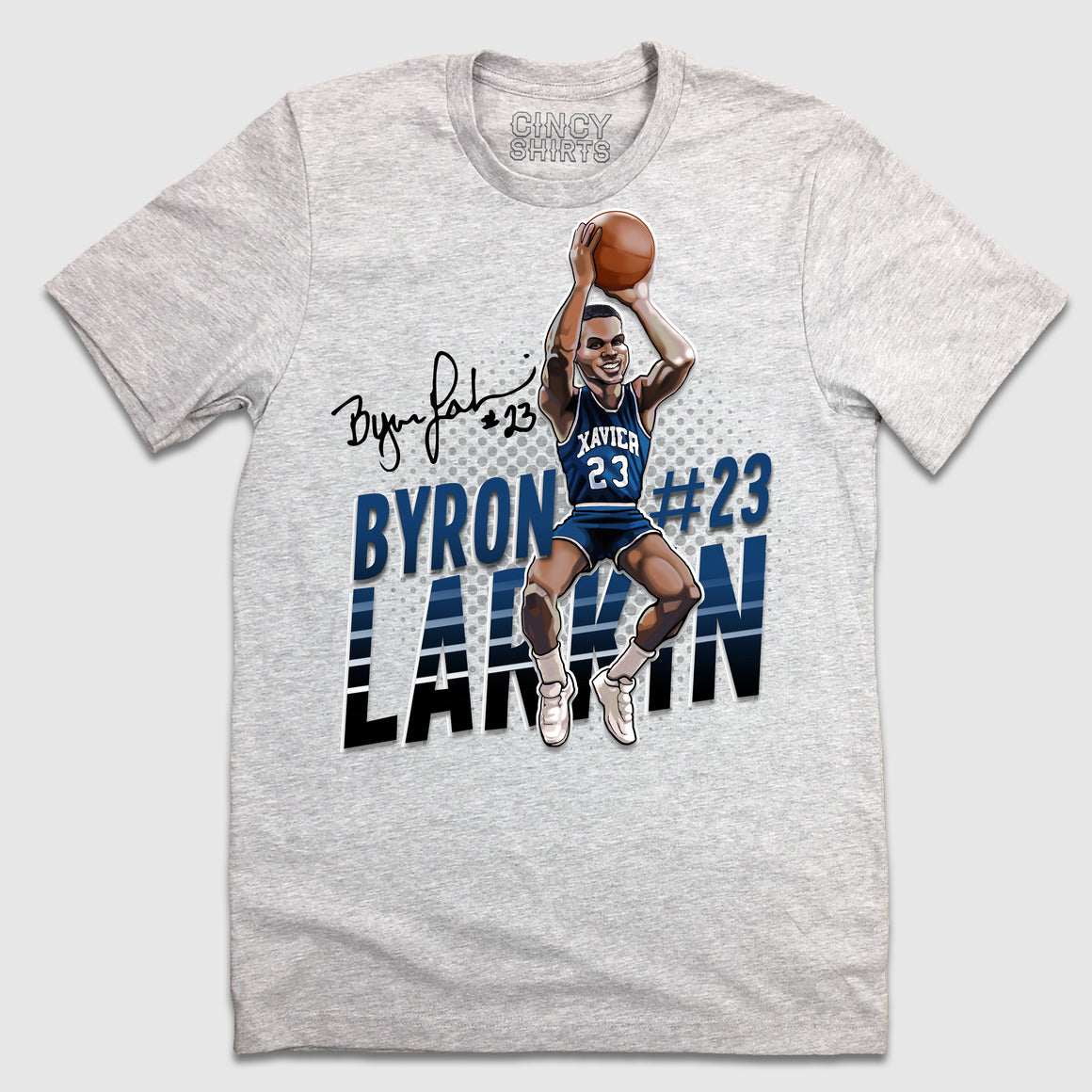 Byron Larkin - Hall of Heroes - Cincy Shirts