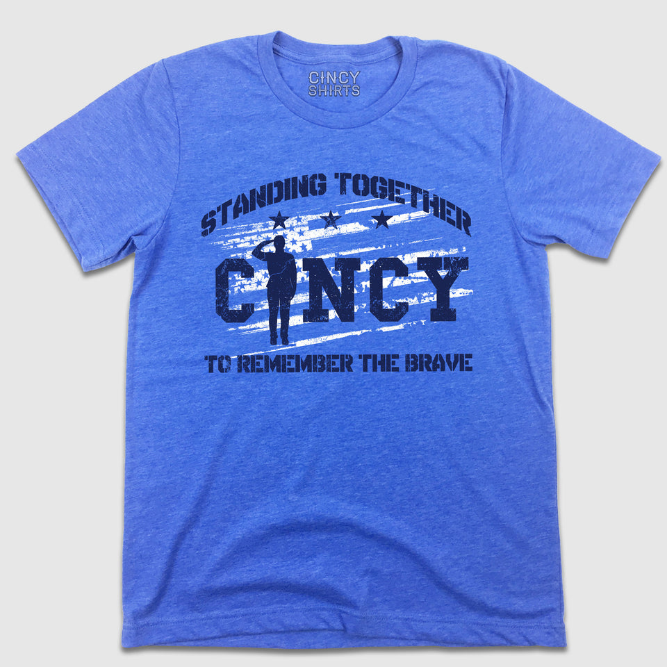 Stand Together For The Troops Cincy - Cincy Shirts