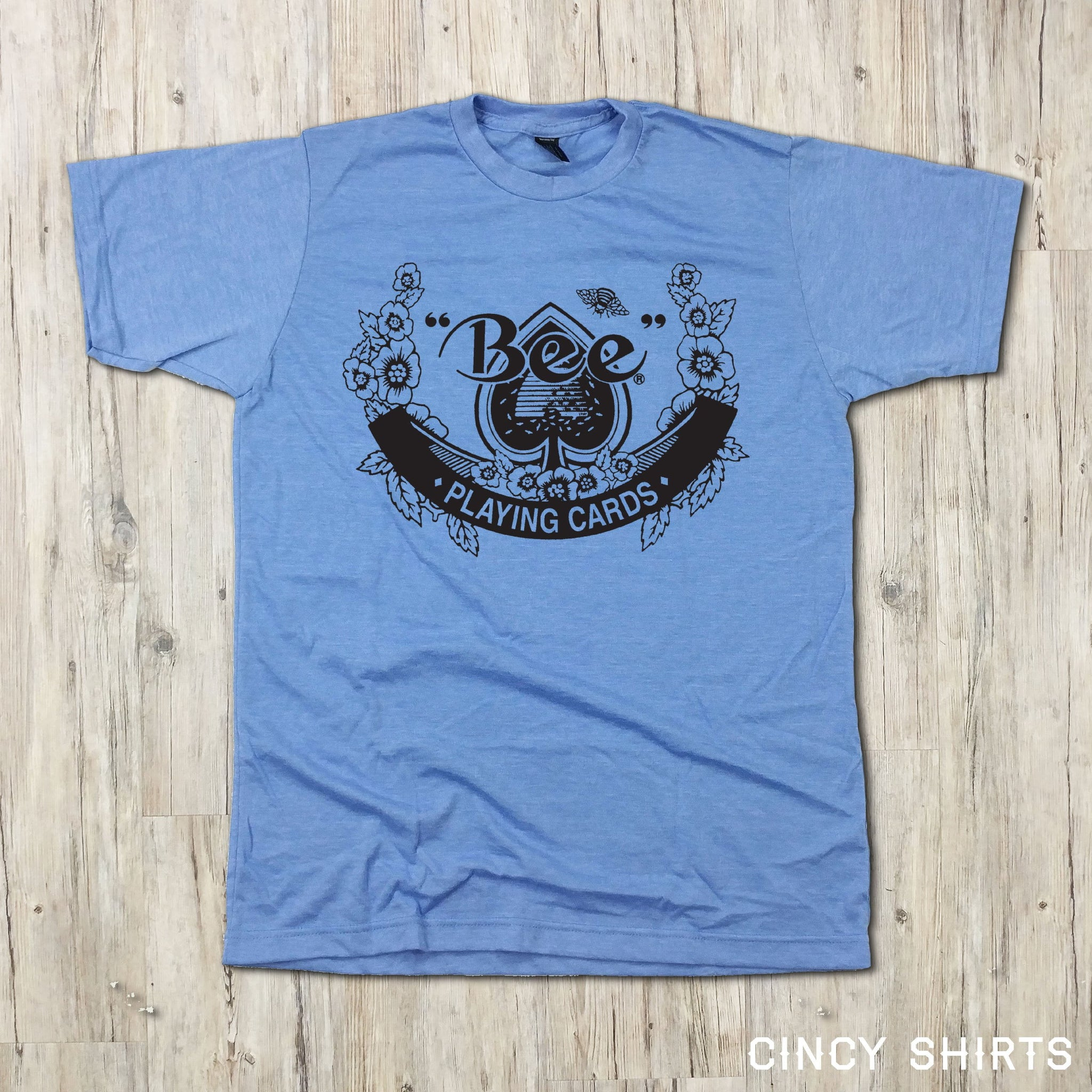 US Playing Card Bee Playing Cards T-shirt 1a2dddbe6