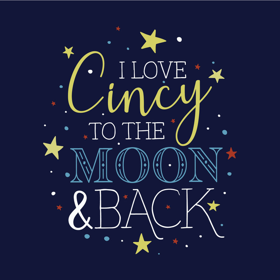 Cincy to the mooon and back t shirt Cincy Shirts