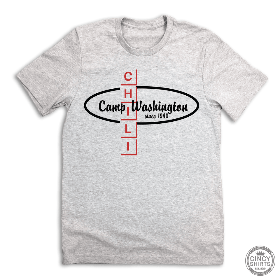 Camp Washington Chili Logo - Cincy Shirts