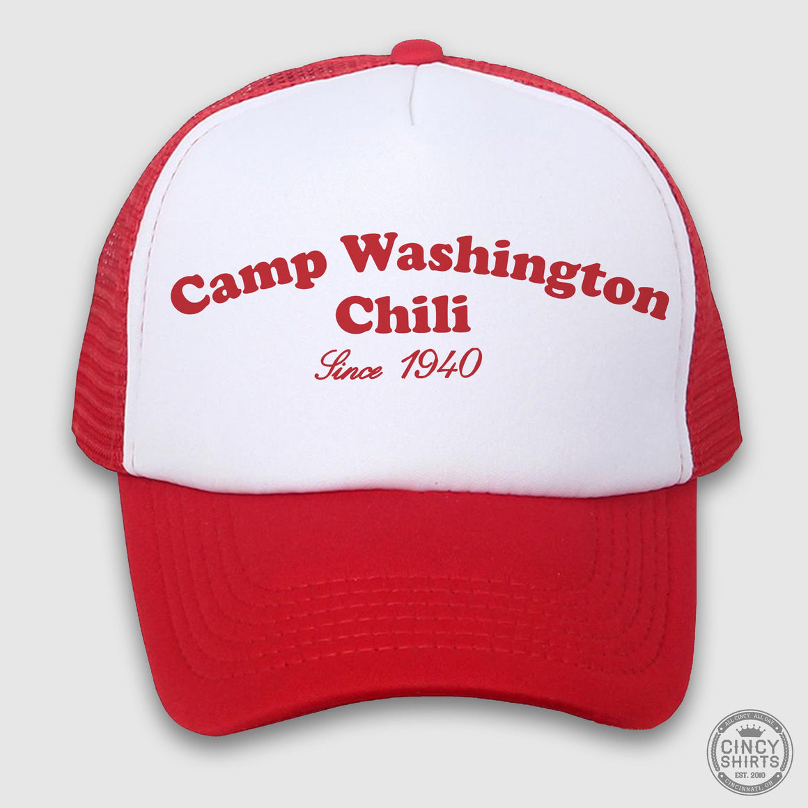 Camp Washington Chili Trucker Hat - Cincy Shirts