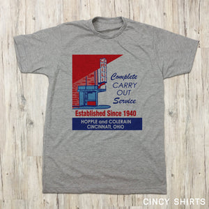Camp Washington Chili Vintage Matchbox Logo