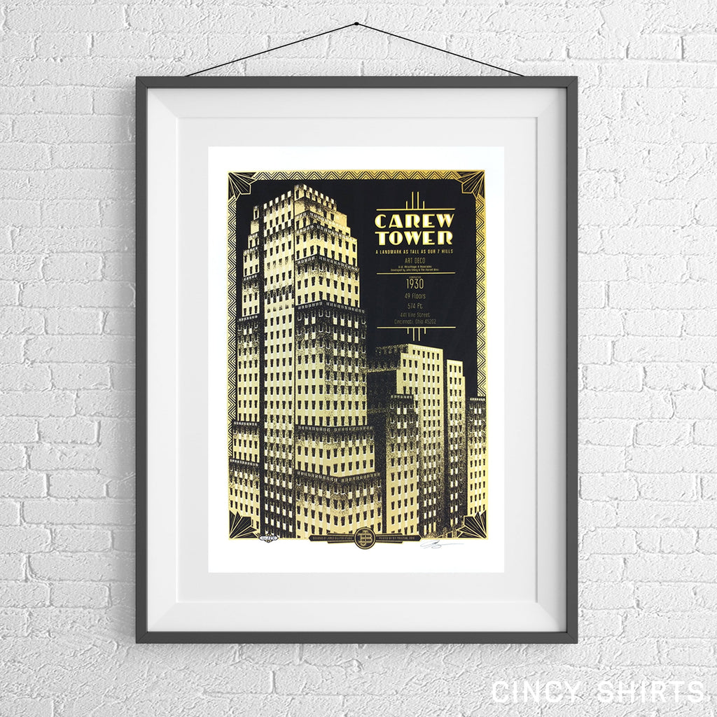 Carew Tower - Limited Edition Print