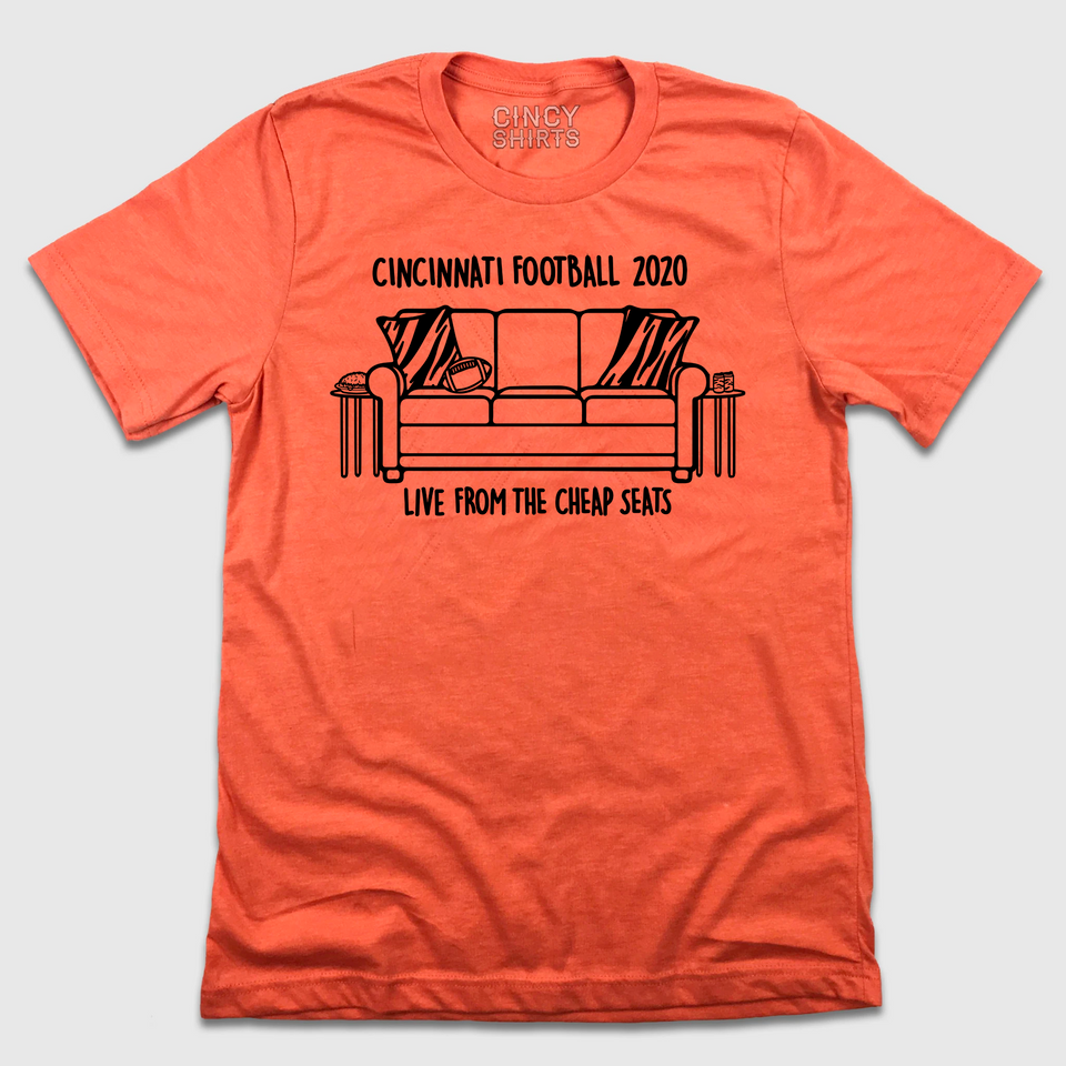 Live From the Cheap Seats - Cincy Shirts