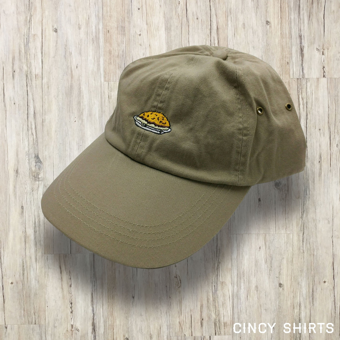 Cincy Chili Dad Hat - Tan