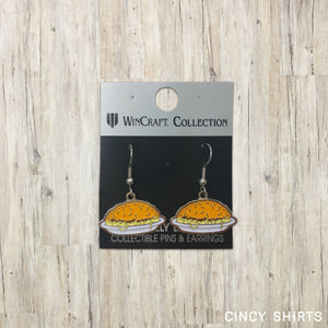 Chili Earrings - Cincy Shirts