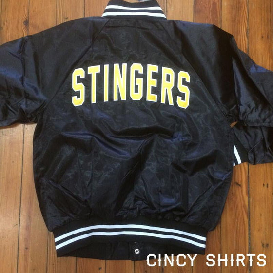Cincinnati Stingers Satin Jacket