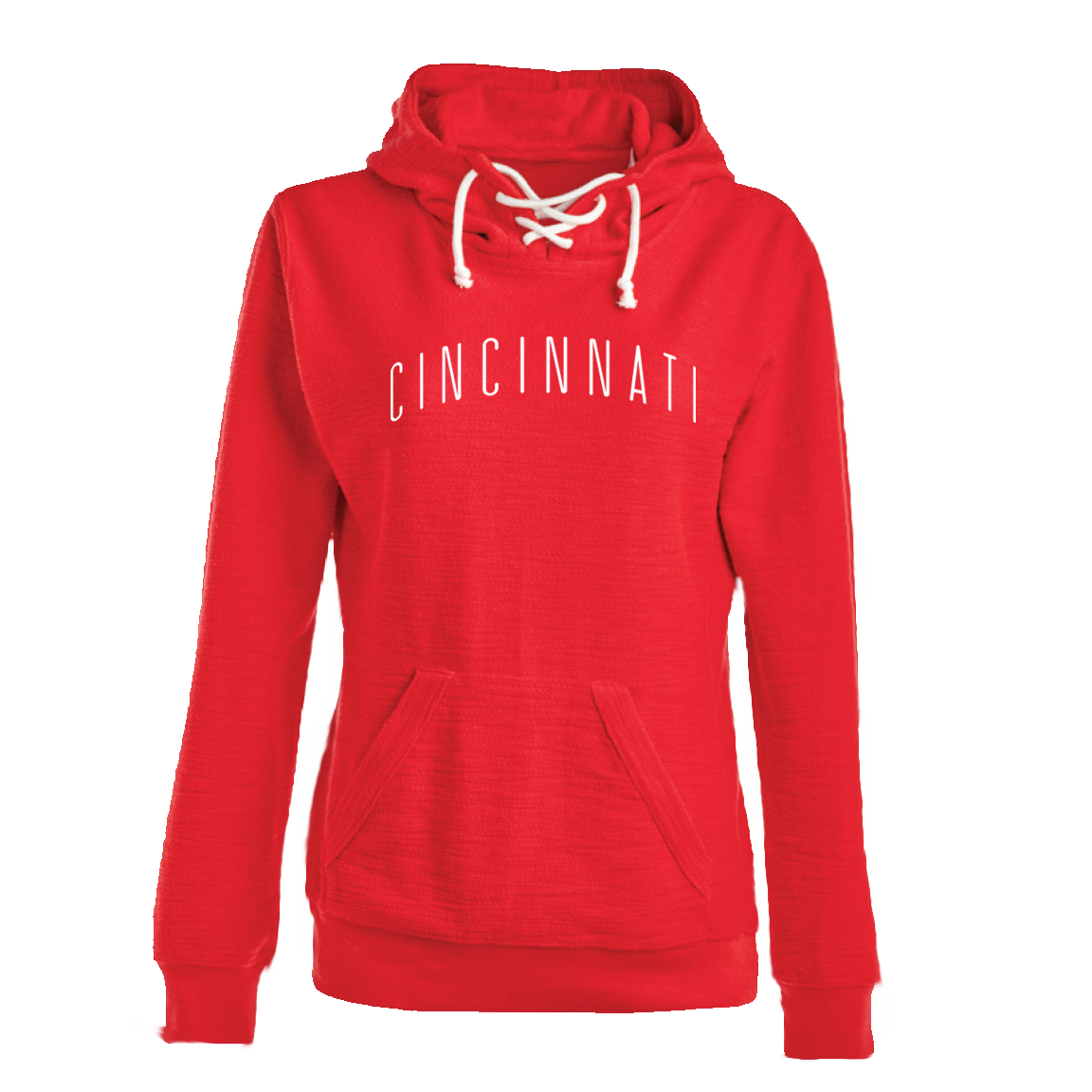 Cincinnati Ladies Sport Lace Hoodie - Cincy Shirts