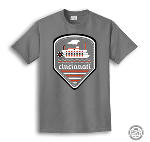 Cincinnati Riverboat T-Shirt
