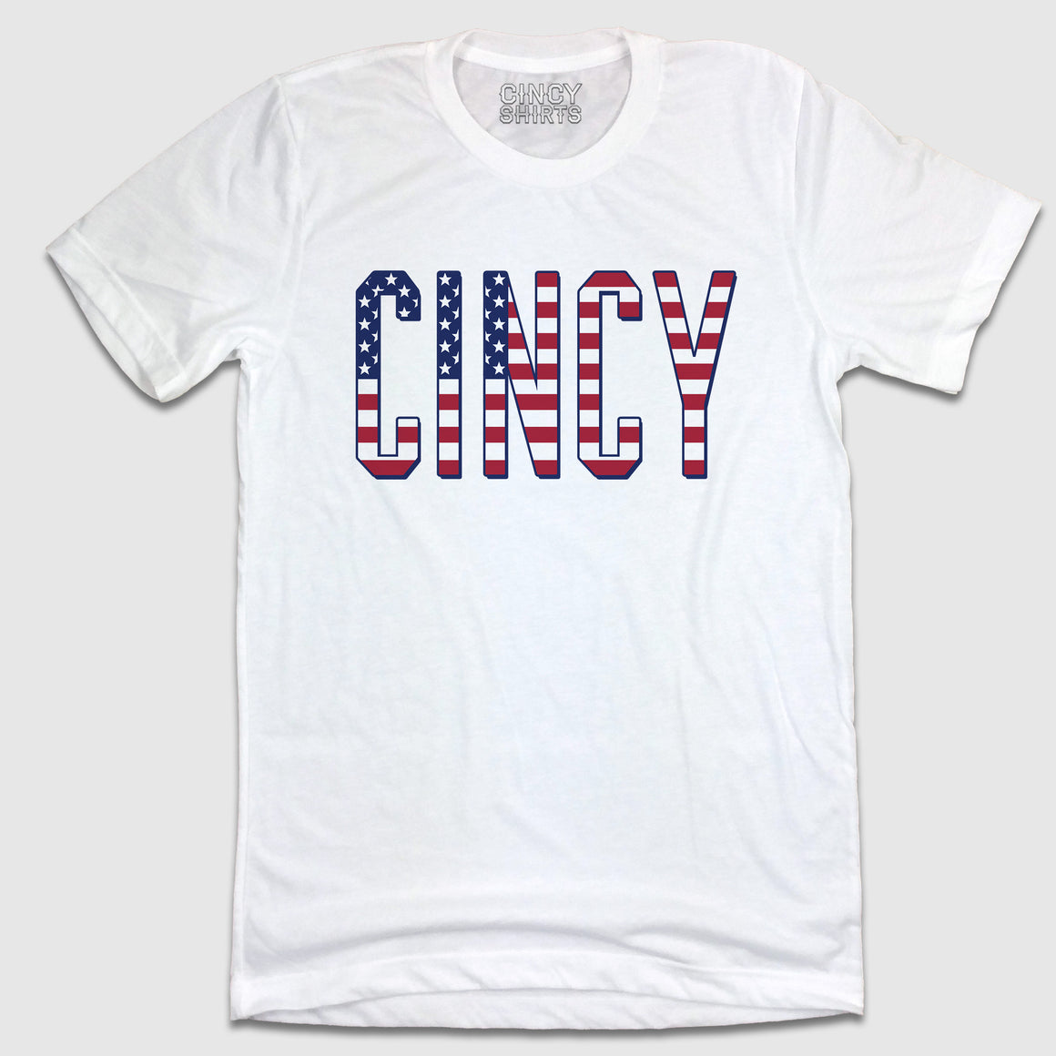 Red, White & Blue CINCY - Tees - Cincy Shirts