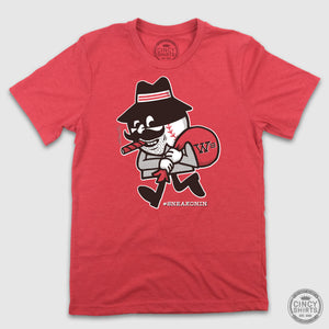 The Red Bandit - #SneakOnIn Cincy - Cincy Shirts