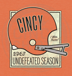 1967 Undefeated Season - Cincy Shirts