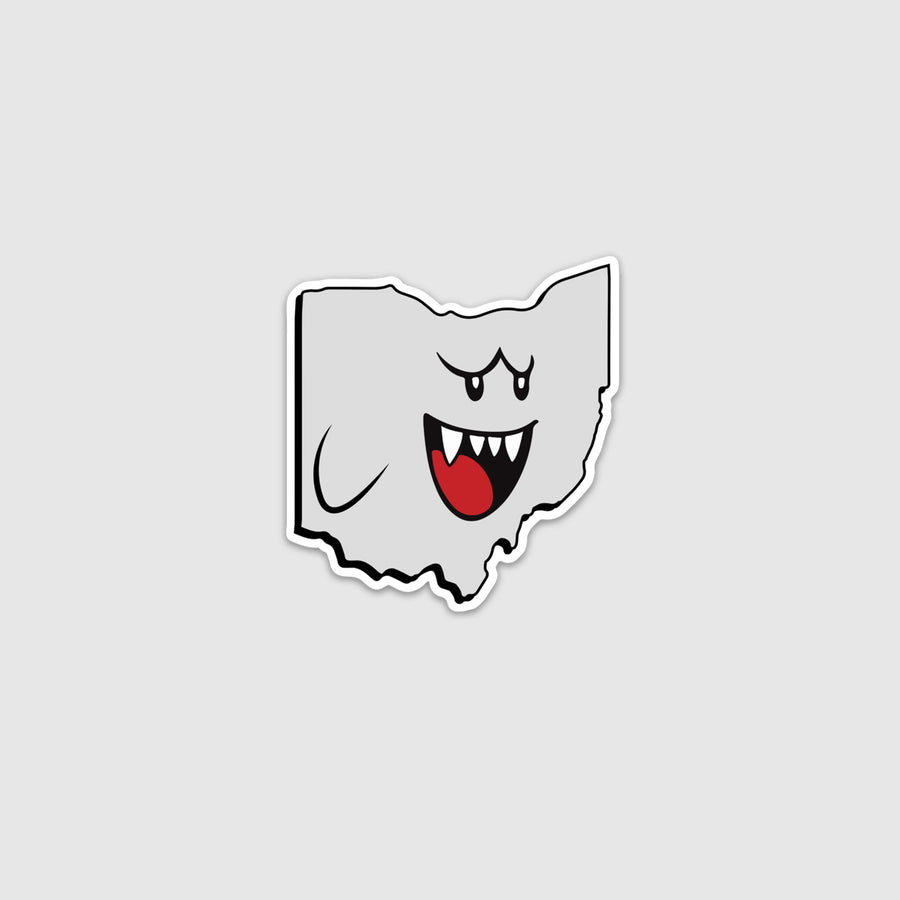 BOO-hio Sticker - Cincy Shirts