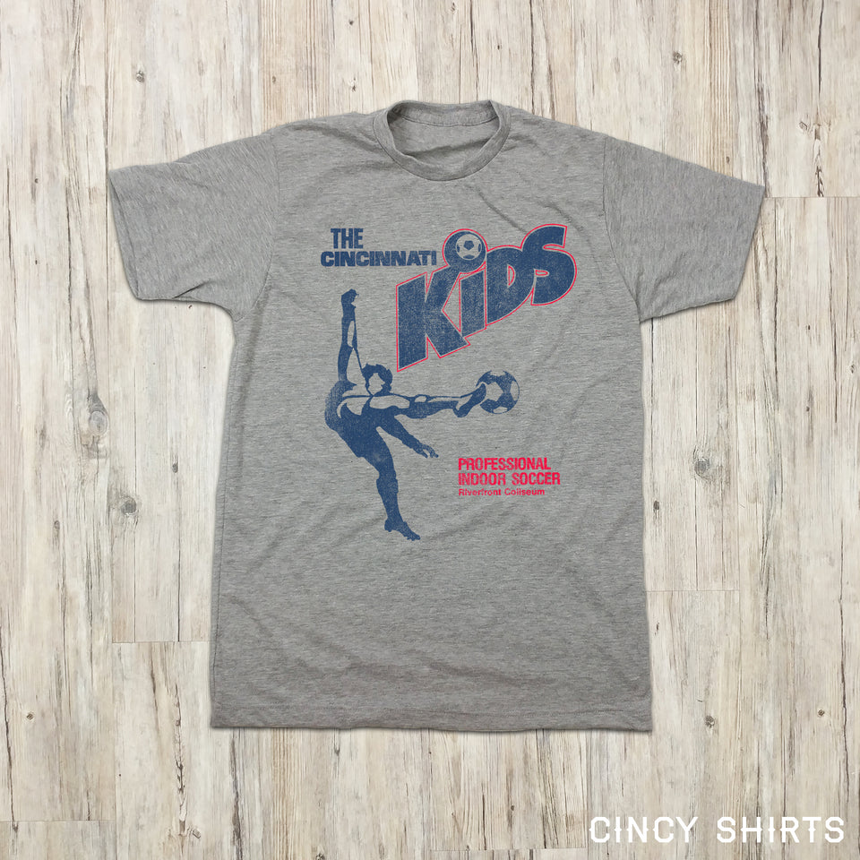 The Cincinnati Kids Indoor Soccer - Youth Sizes - Cincy Shirts