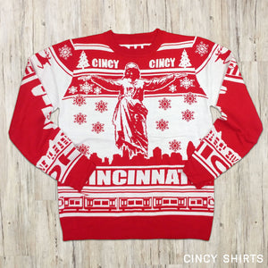 Cincy Ugly Christmas Sweater