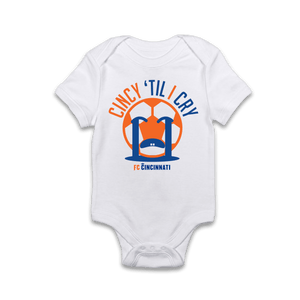 Cincy 'Til I Cry - FC Cincinnati Onesie