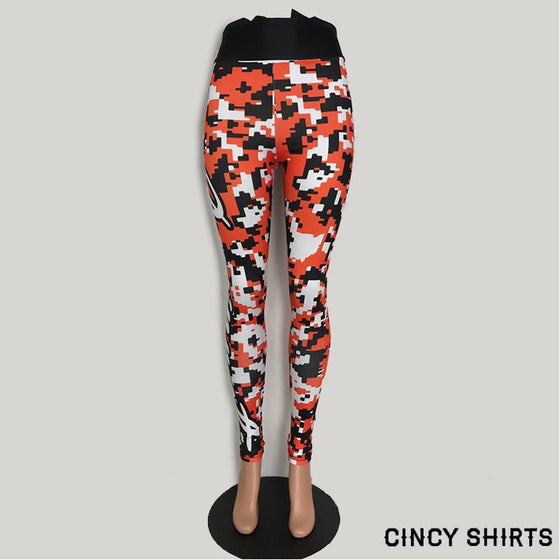 Cincy Football Digital Camo Women's Legging