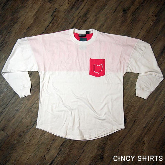 Cincinnati Pink Pocket Spirit Jersey