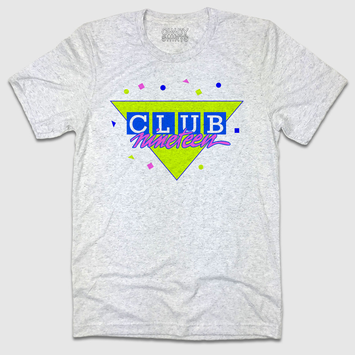 Club Nineteen Retro Logo - Cincy Shirts
