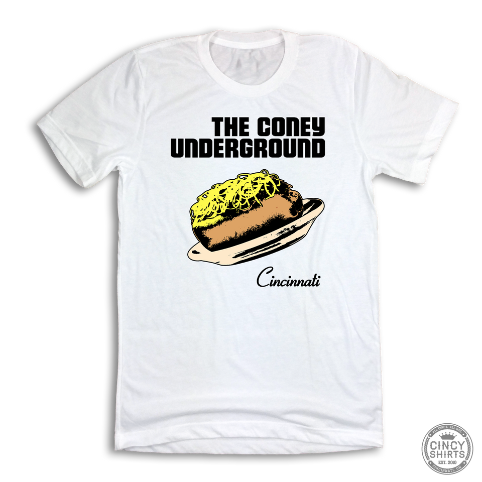The Coney Underground - Cincy Shirts