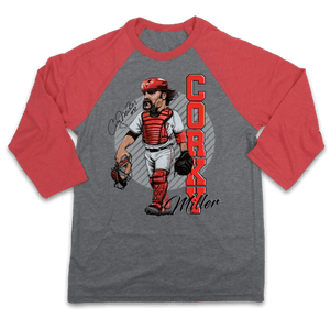 Corky Miller - Hall of Heroes Baseball Tee