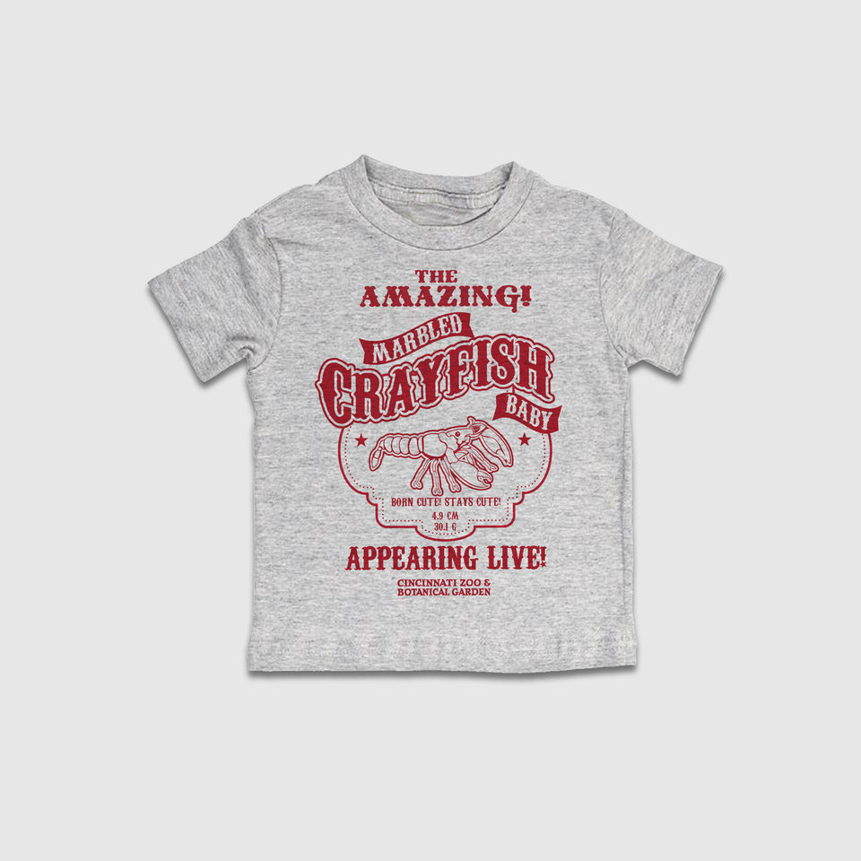 "The ""Amazing"" Marbled Crayfish - Youth Garments - Cincy Shirts"
