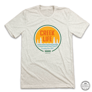 Creek Life - Full Color Logo T-shirt