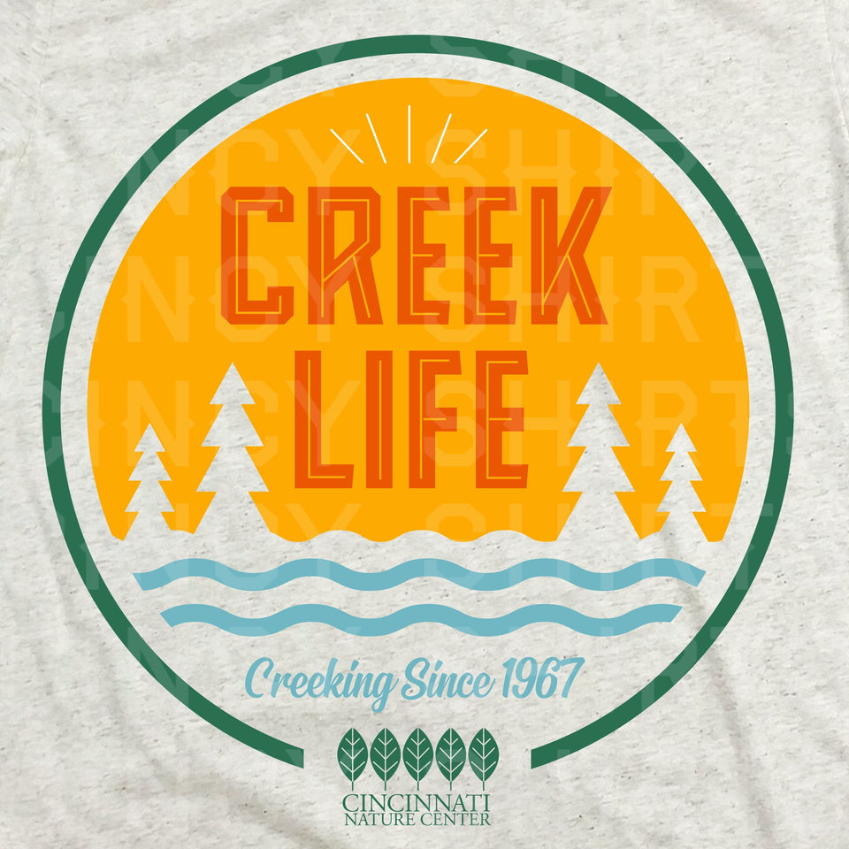Creek Life Full Color Logo - ONLINE EXCLUSIVE - Cincy Shirts