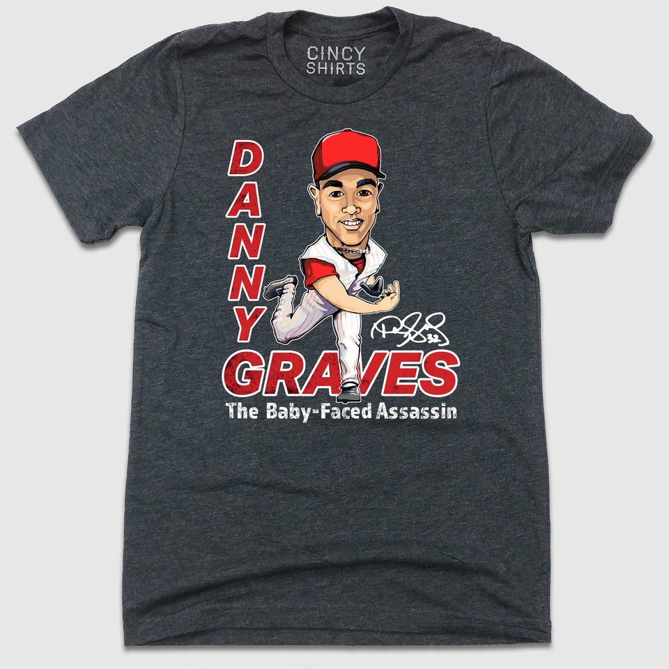 Danny Graves - Hall of Heroes - Cincy Shirts