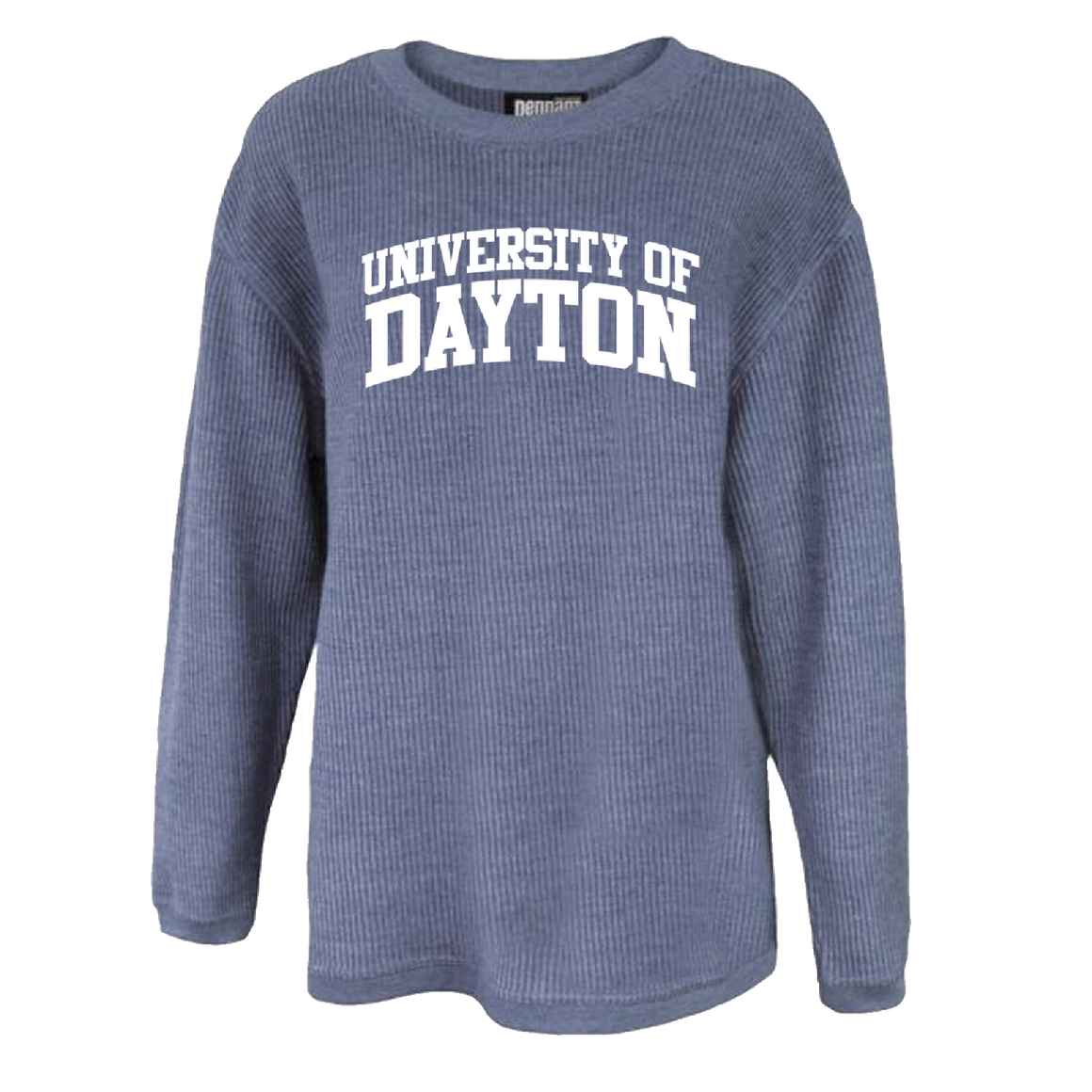 University of Dayton Corded Crew Navy