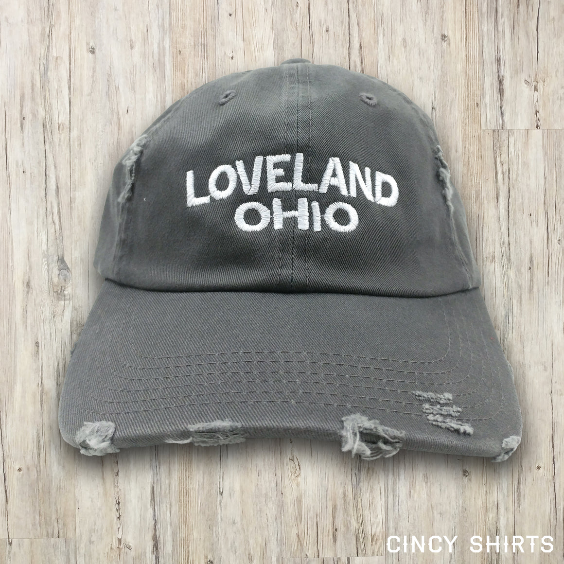 Loveland, Ohio - Distressed Hat