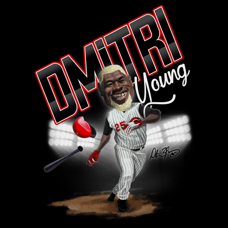 Dmitri Young Hall of Heroes - Cincy Shirts