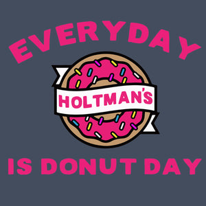 Holtman's Every Day is Donut Day logo image