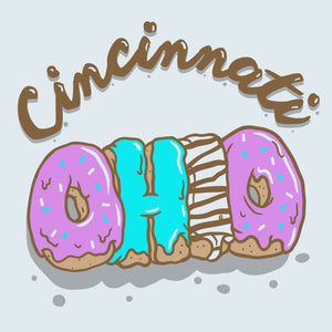 Cincinnati Ohio - National Donut Day logo image