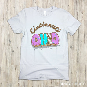 Cincinnati Ohio - National Donut Day T-shirt