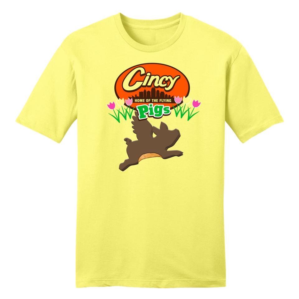 "Cincy ""Home Of The Flying Peanut Butter Pigs"" - Cincy Shirts"