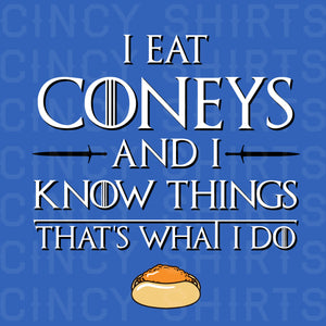 I Eat Coneys and I Know Things image