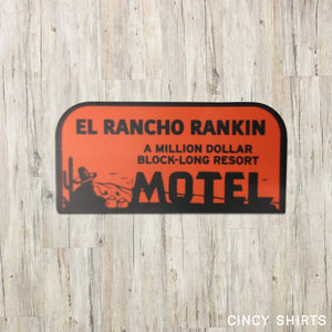 El Rancho Rankin Sticker