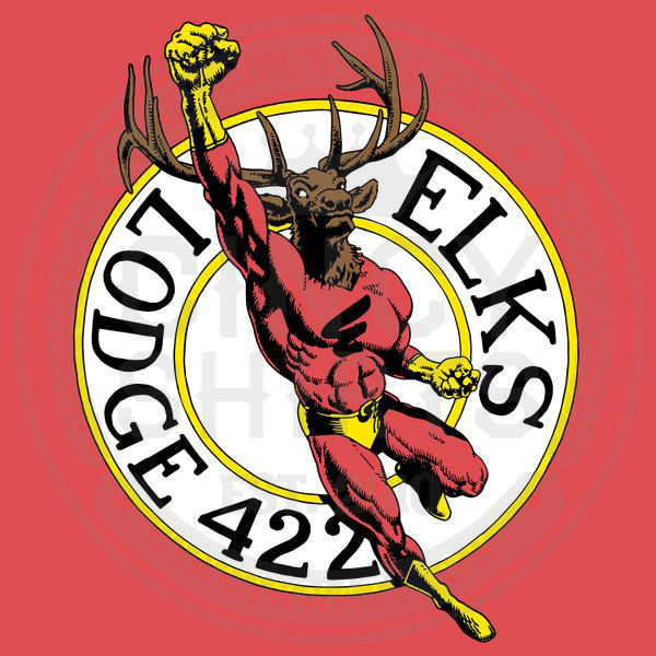 Lebanon Elks Lodge Superhero - Cincy Shirts