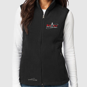 Exact Metrology Eddie Bauer Ladies Fleece Vest - Cincy Shirts