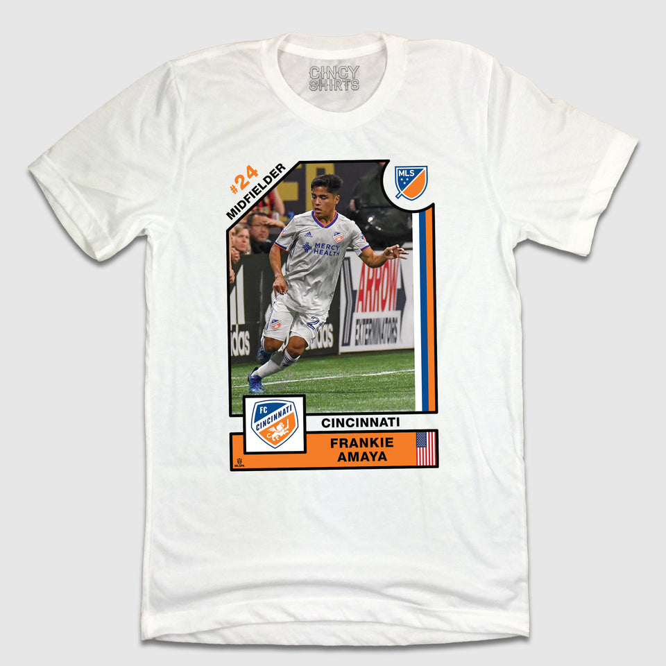 Official Frankie Amaya Player Card Tee - Cincy Shirts
