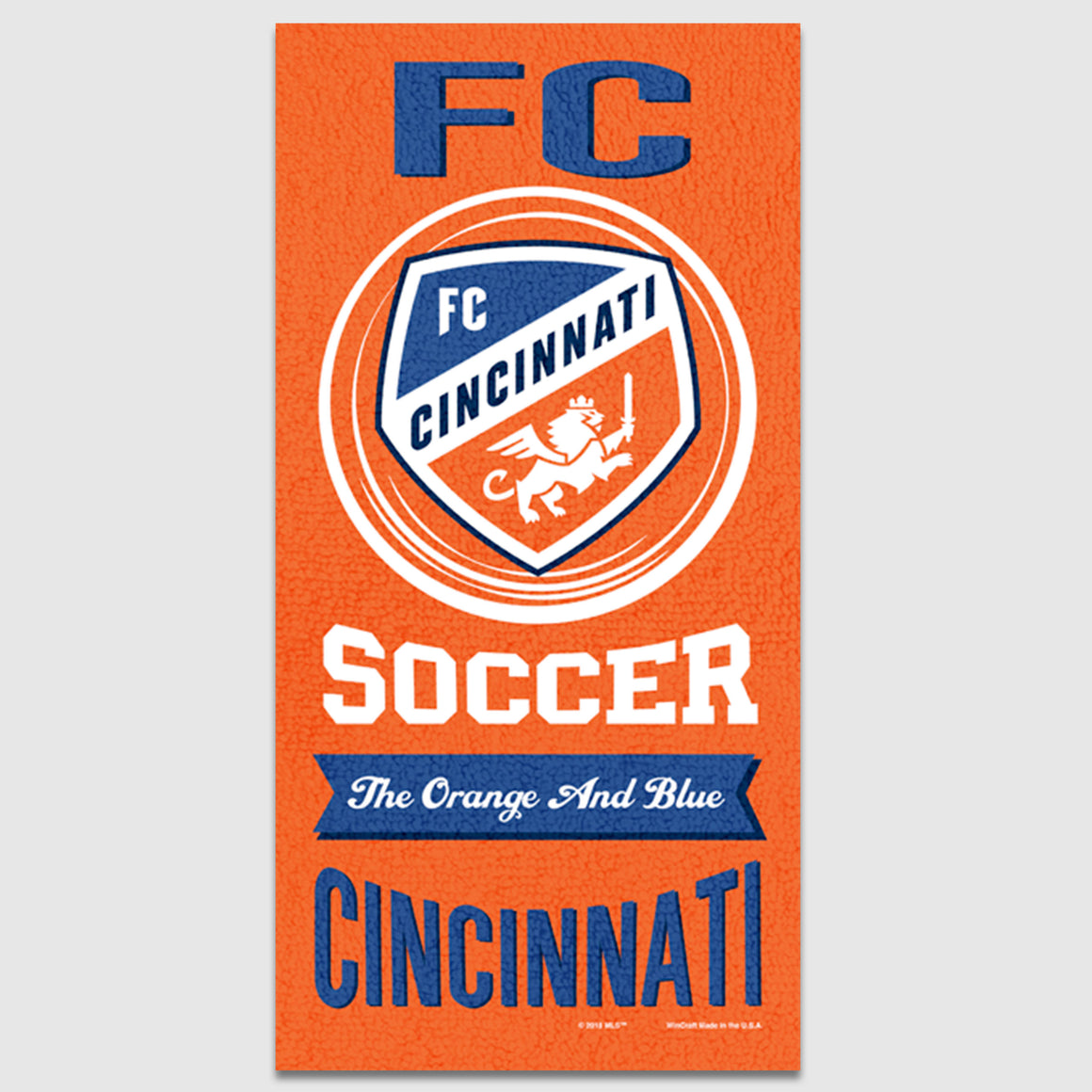 FCC Beach Towel - Cincy Shirts