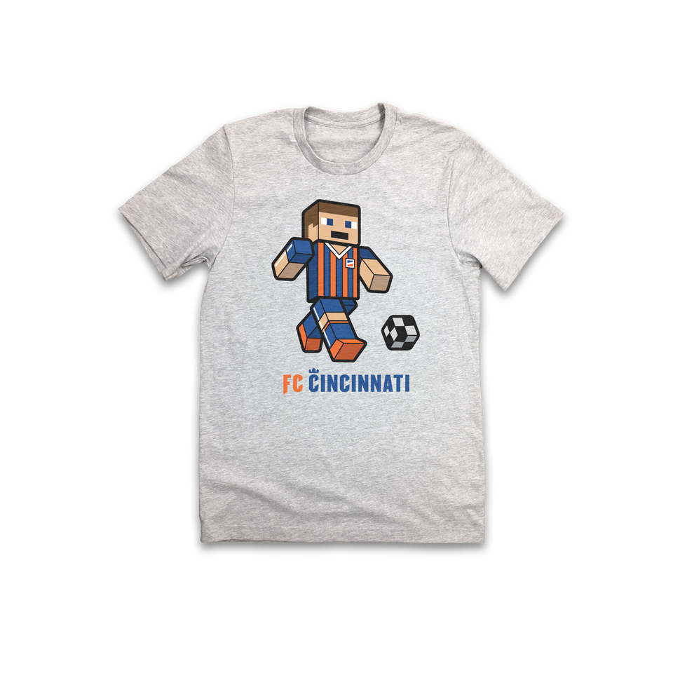 FC Cincinnati Block Player - Cincy Shirts