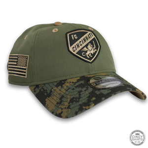 FC Cincinnati Green Camo Hat