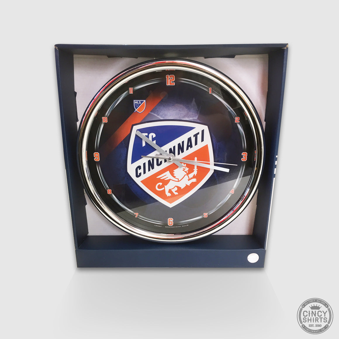 Official FC Cincinnati Clock