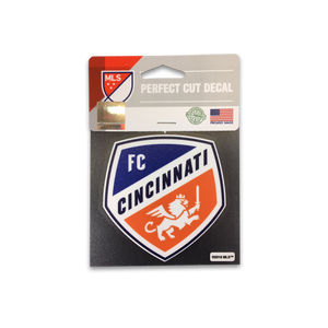 FC Cincinnati Car Window Decal - Full Color Primary Shield